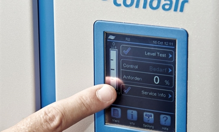 Condair RS with touch screen controller